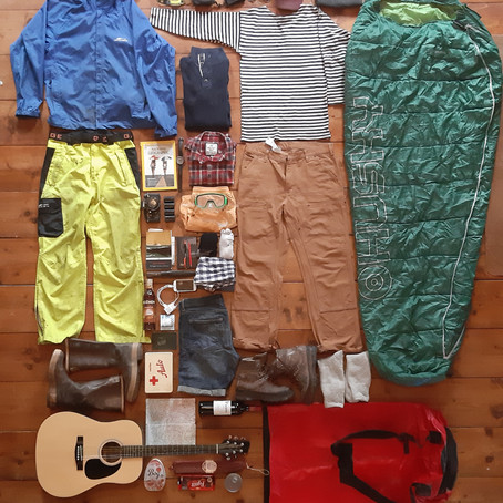 What pack in Backpack for sailing on Anna - Co zabalit do batohu na plavbu na Anne
