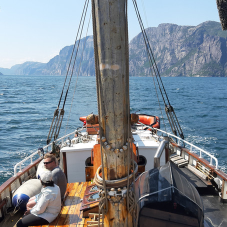 First trip Stavanger - Lysefjord