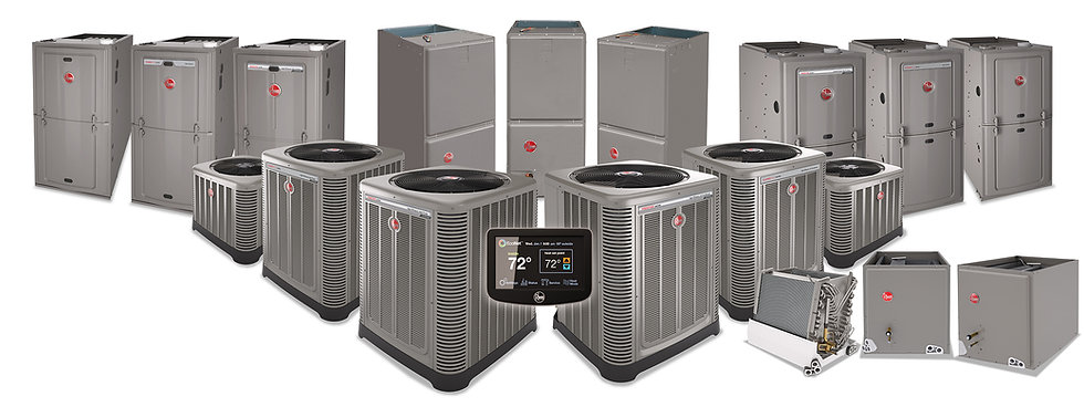 Rheem Residential Unit that are part of the M&S product