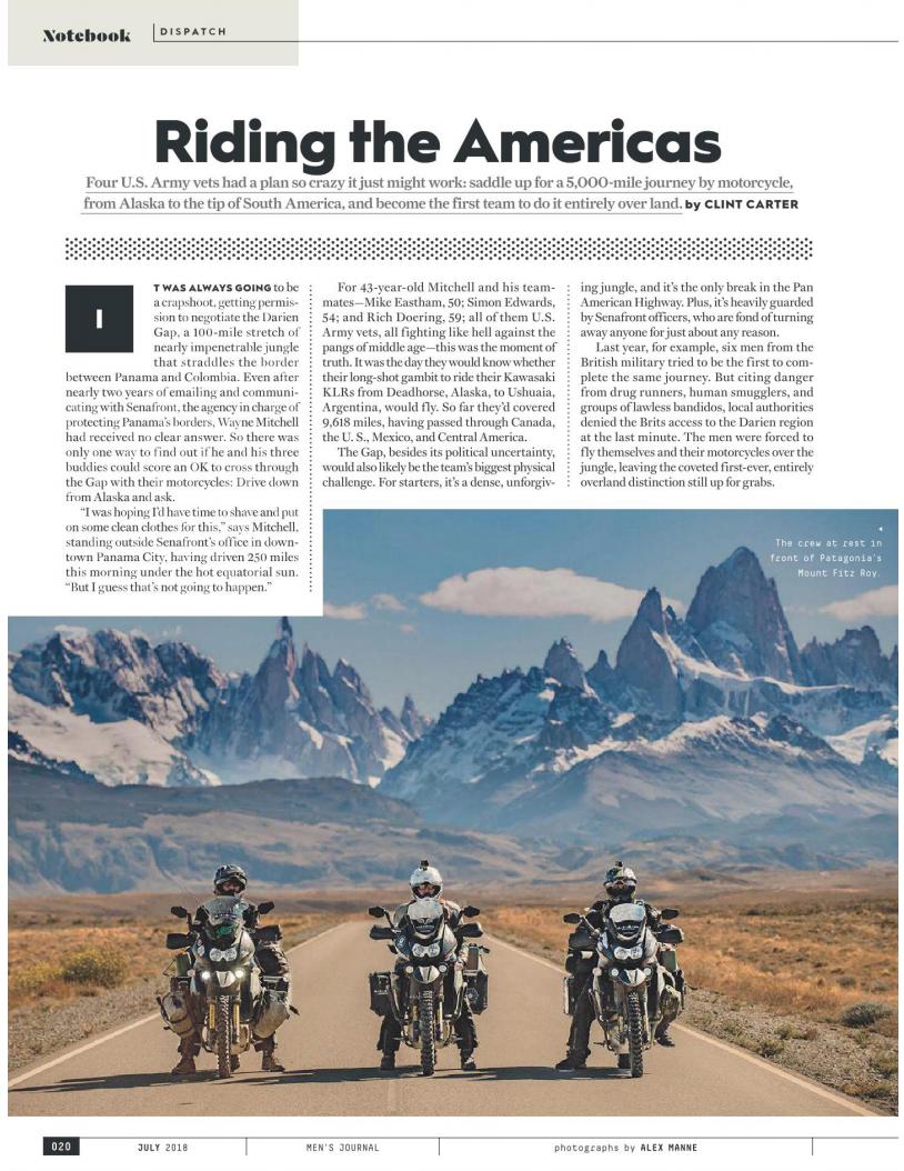 RidingTheAmericas