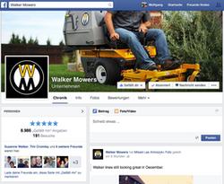 Walker Mowers Facebook
