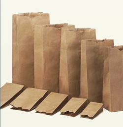 Bolsa de papel KRAFT sin asas