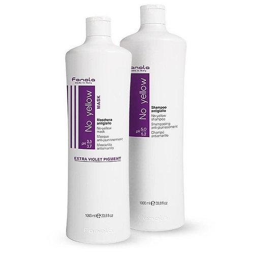 Original No Yellow Purple Shampoo & Mask Duo