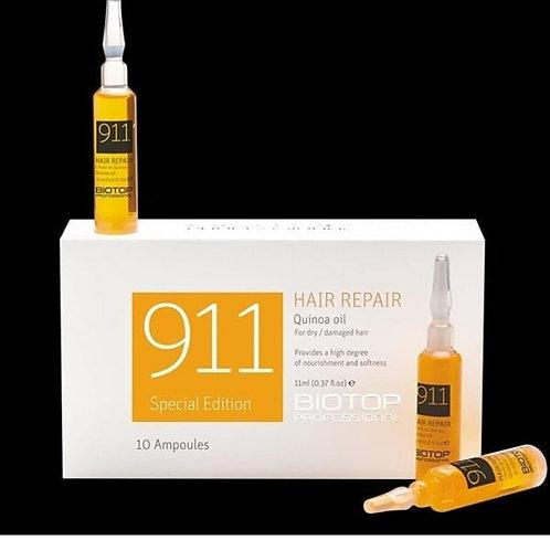 911 Quinoa Hair Repair Oil - Ampollas 3x36ml