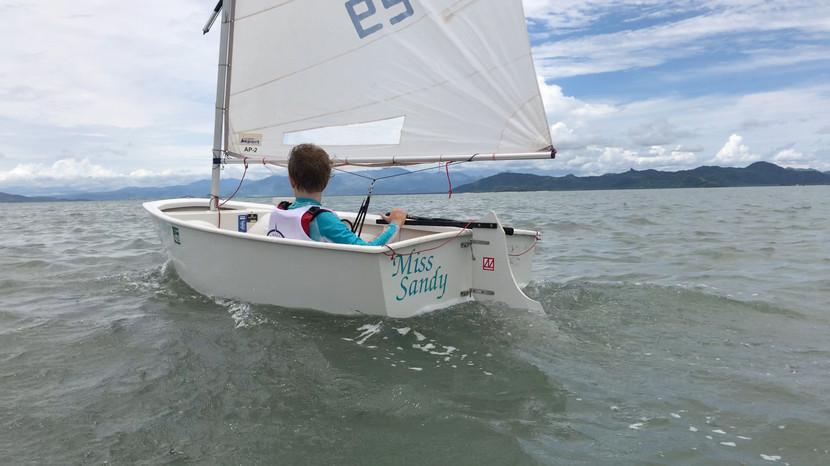 Opti Sailing