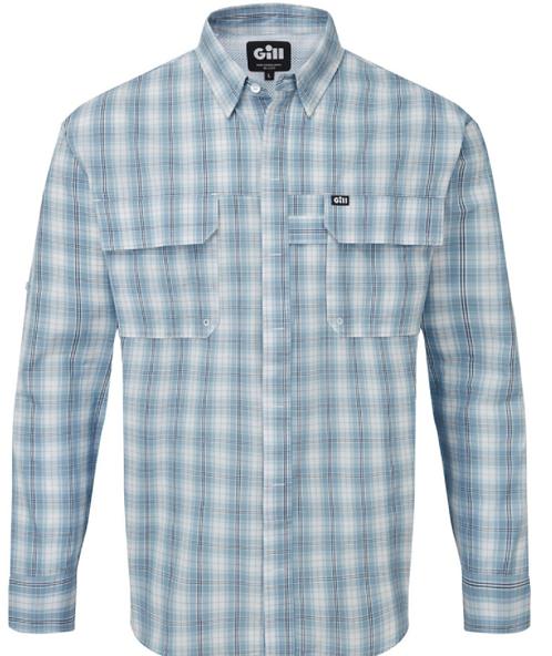 Overton Shirt - Blue checks