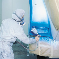 Protect spraybooths from paint