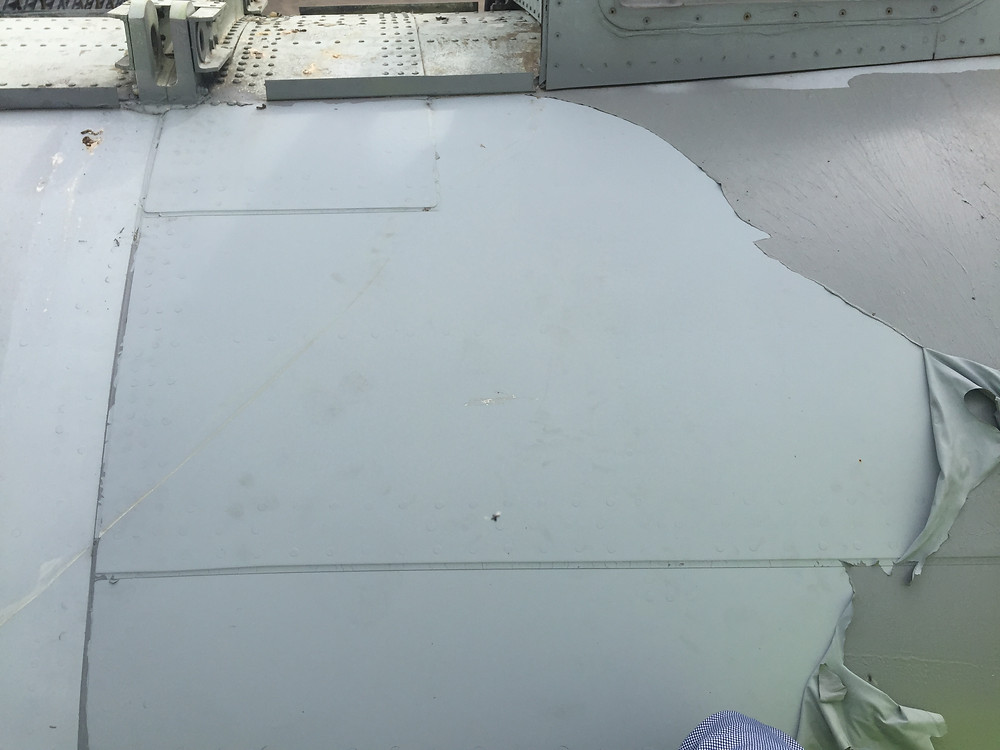 Protective coating used in the aerospace industry as a temporary peelable coating