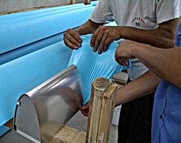 Protectapeel protective film is used to