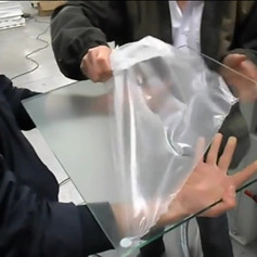 Protect glass quickly
