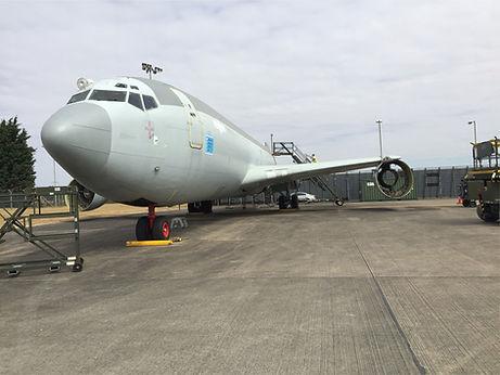 Protectapeel aircraft mothball coating.j