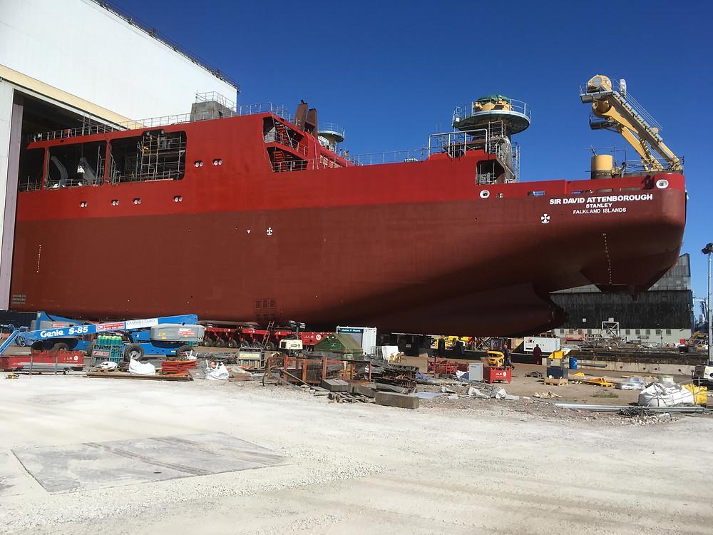 protective coating protecting naval ship