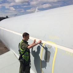 Retired Boeing 707