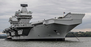 Anti Rust Protective Coating Used On The HMS Queen Elizabeth Aircraft Carrier