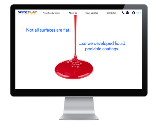 peelable protective coating manufacturer, protectapeel, shows off new website to highlight the benefits of their spray on protection