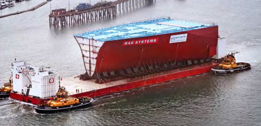 the peelable coating is transported around the UK