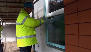 Protectapeel is no longer required as window protection and is removed from the window.