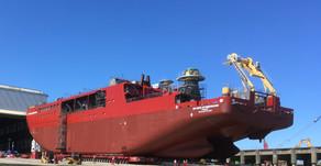 Sir David Attenborough Naval Ship Inaugurated