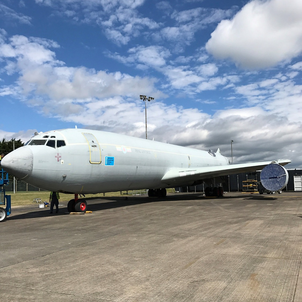 temporary protective coating used on aircraft