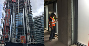 Protectapeel's Protective Coating Used Canary Wharf Commercial Construction