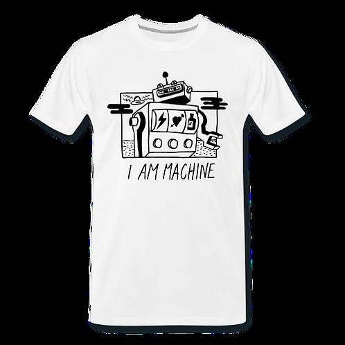 awesome I AM MACHINE tshirt
