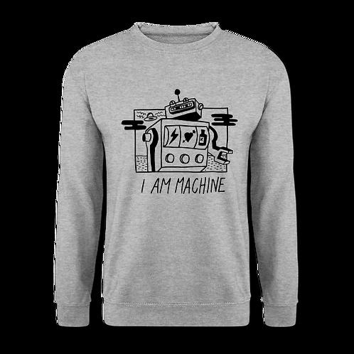 incredible I AM MACHINE sweater