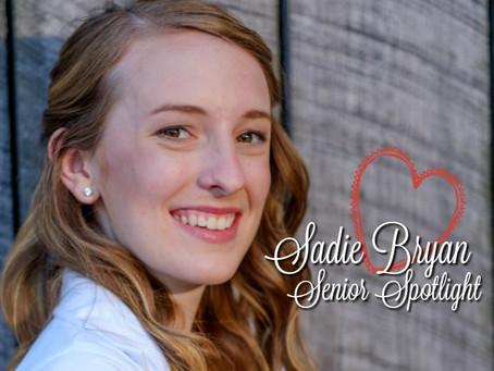 Sadie Bryan: Senior Spotlight