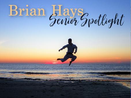 Brian Hays: Senior Spotlight