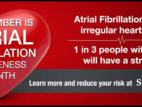 September is AFib Awareness Month