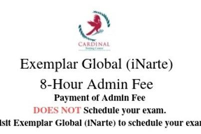 Exemplar Global (iNARTE) 8-Hour Admin Fee