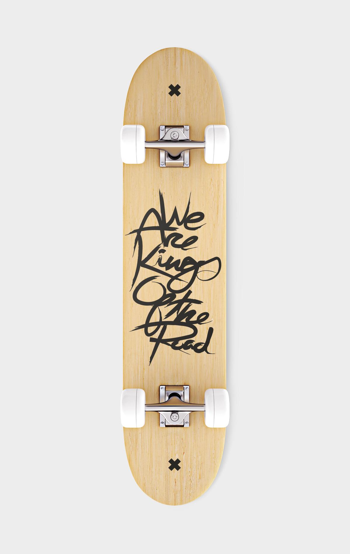 Signed Skateboard
