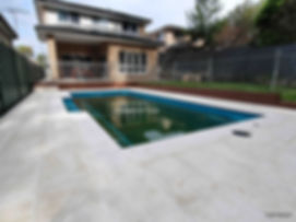 pool tiling services Sydney, outdoor.