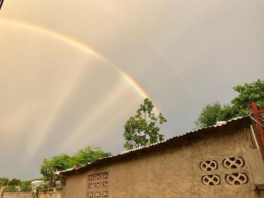 Rainbow in Haiti