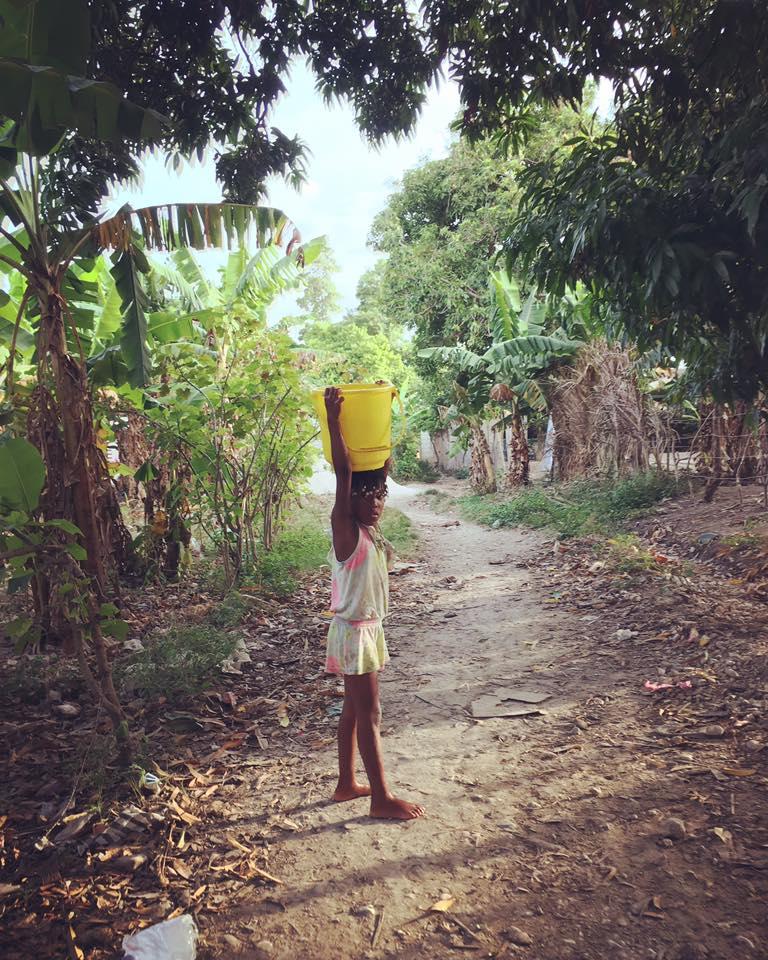 Getting Water in Haiti