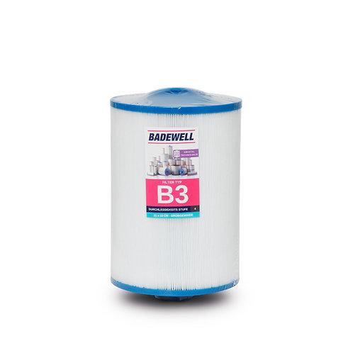 B3 - Whirlpool Filter 210 x 150mm mit Grobgewinde