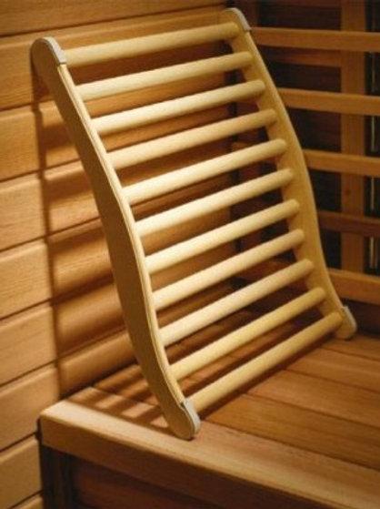 Sauna Ergonomische Rückenlehne