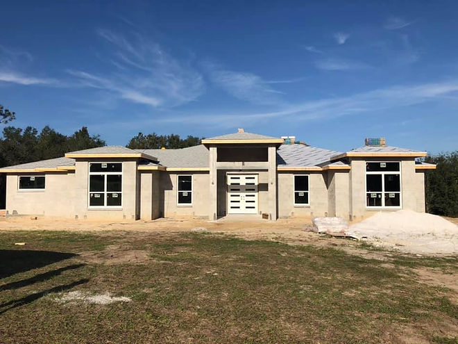 home being built by ocala Florida home builder, #custom home builer in Ocala FL