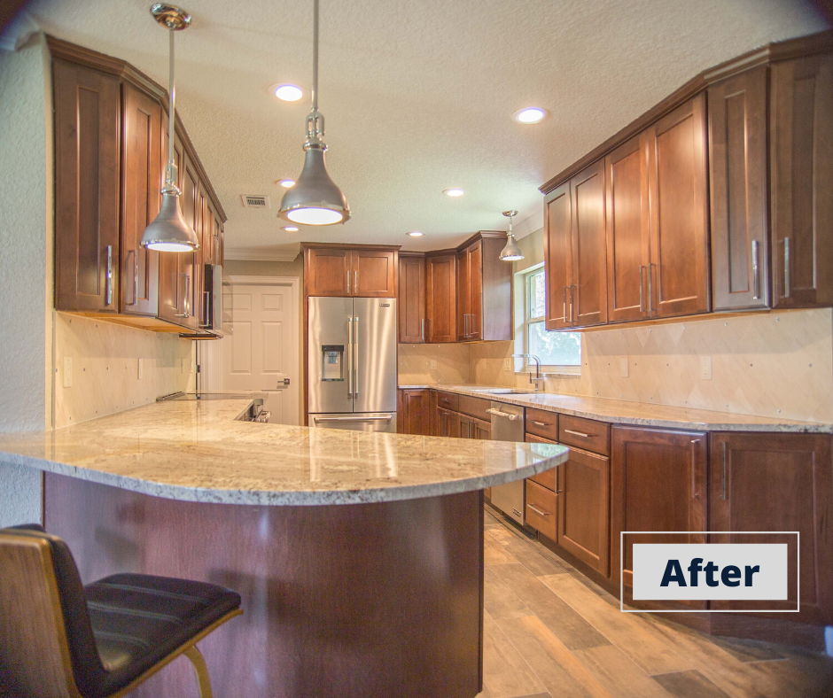 After picture of Kitchen Renovation