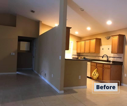 Before Picture of Kitchen remodel