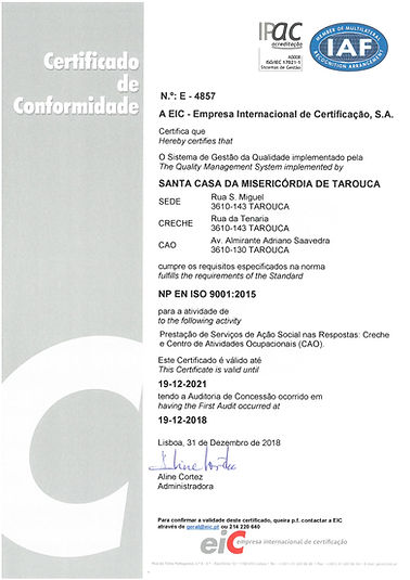 Certificado CAO