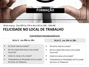 """""""FELICIDADE NO LOCAL DE TRABALHO"""""""