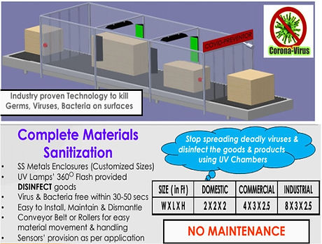 Sudhai MATERIAL Disinfection Chamber web