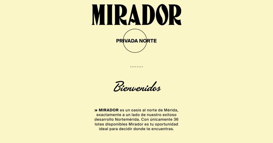 Mirador Privada Residencial en Méridaa Residencial en Mérida