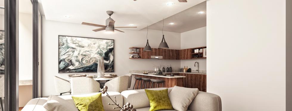 Bosqua Buenavista venta de departamentos y casas inteligentes