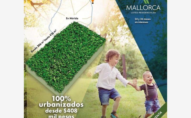 Mallorca Cholul, Terrenos Residenciales en Mérida
