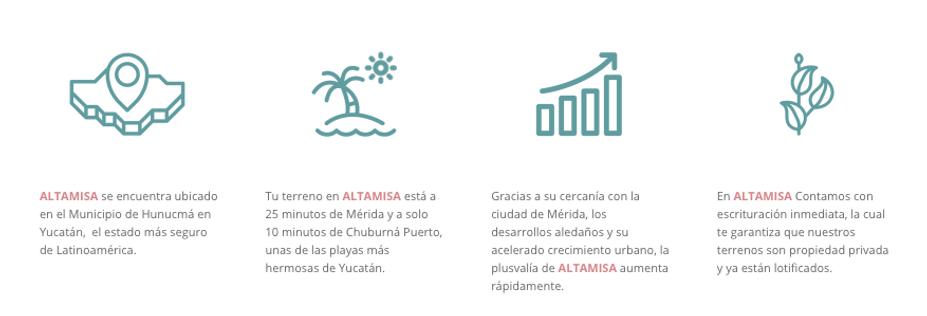 Características Altamisa Terrenos de Inversión