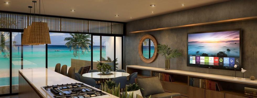 Venta de casa frente a la playa de Yucatán