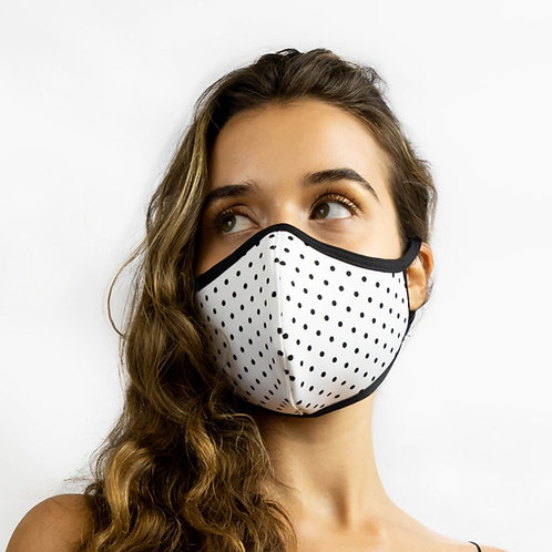 T19 Polka Dot Printed Adjustable Mask