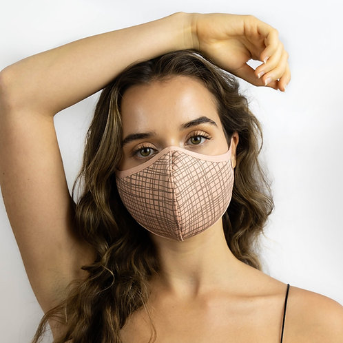 T19 Grid Line Printed Adjustable Mask