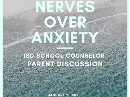 Counselor Corner: Calming Nerves Over Anxiety
